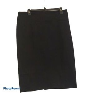New York and Company Black Pencil Skirt Size 12